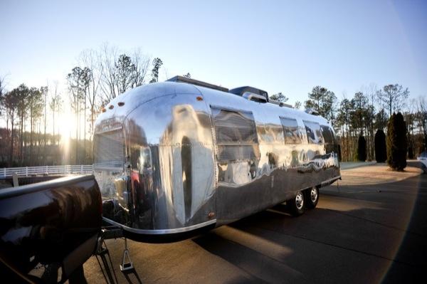 Renovated 1967 Overlander Airstream Camper