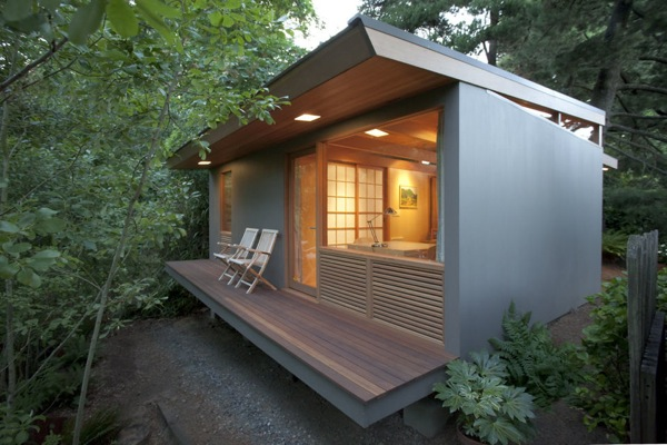 236 Sq Ft Zen Teahouse in Portland
