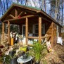 Pine One Room Tiny Cabin For Sale Maryland