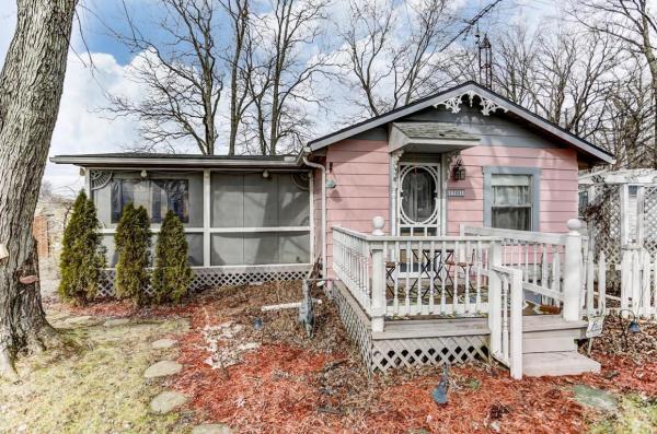 Pink Flamingo Tiny Cottage in Ohio_001