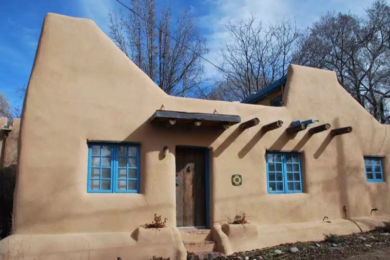 510 Sq Ft Small PuebloStyle Solar Home For Sale in