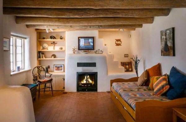 Pueblo-Style Solar Home For Sale in Santa Fe 004