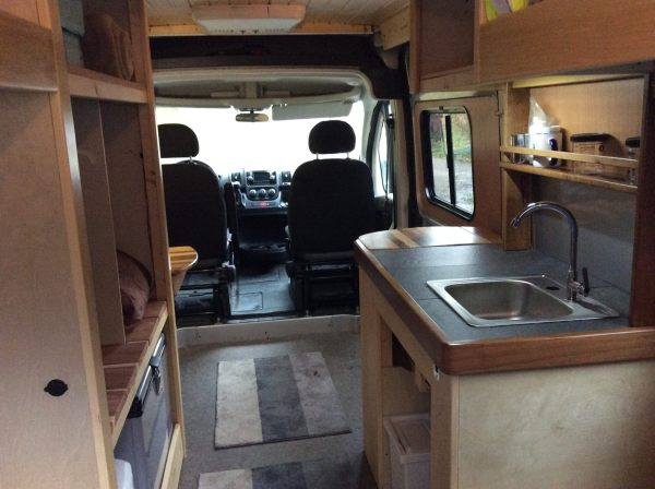 Ram Promaster Cargo Van Conversion Tiny House Style by Yahinihomes 006