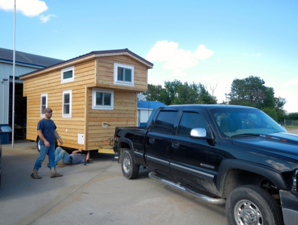 Retired Military Woman Building Tiny