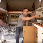 Rock climber's stealth camper van – 1