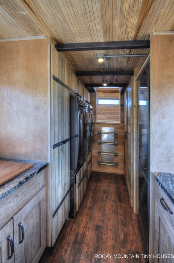 37 Gooseneck Tiny House on Wheels 460 Sq Ft Inside