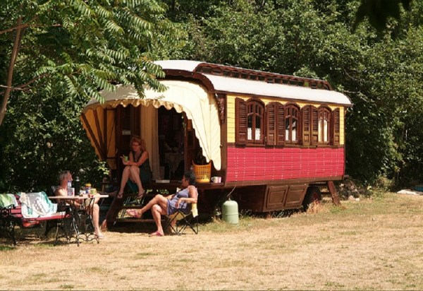 roulottes gypsy caravan tiny house