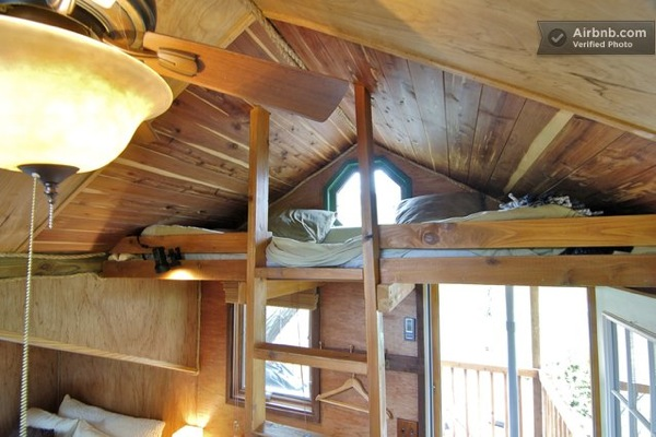 Garden Treehouse Cabin Elevated Micro Living