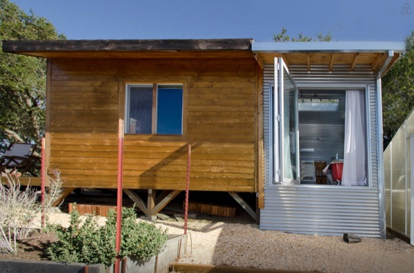 rustic tiny cabin