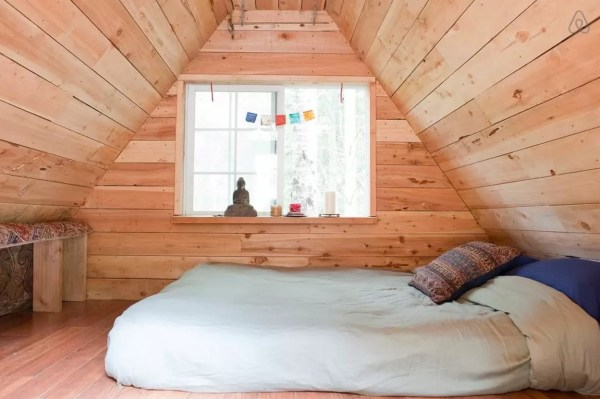 Rustic Off-Grid A-frame Vacation 002