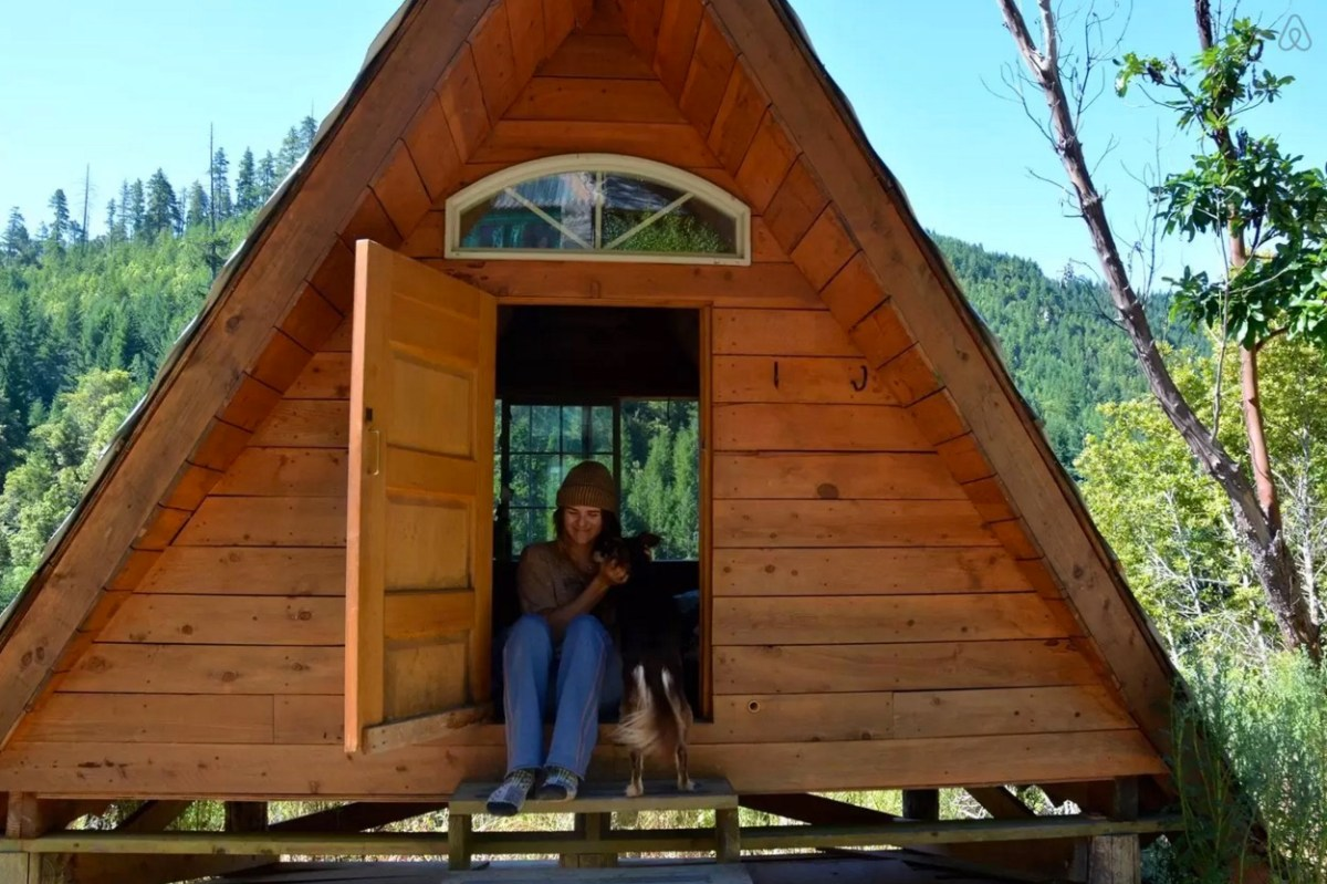 Off Grid Micro A Frame Cabin
