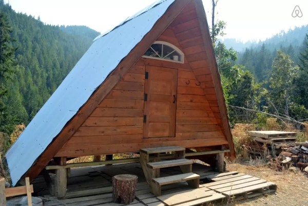 Rustic Off-Grid A-frame Vacation 009