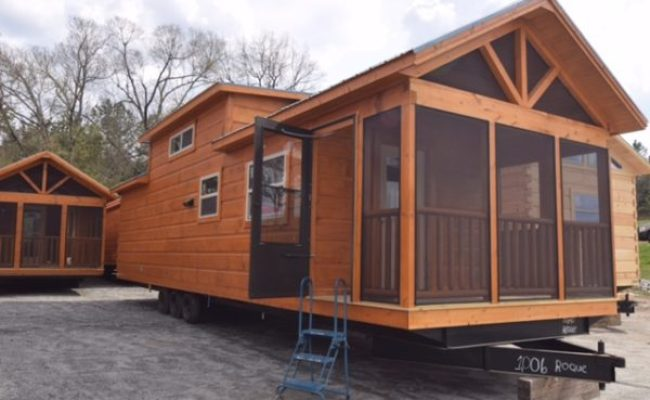 Ruth S 399 Sq Ft Park Model Tiny House For Sale Nc