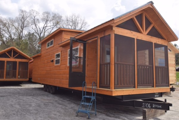 Ruth's 399 Sq. Ft. Park Model Tiny House For Sale, NC
