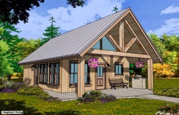 SIMPLE cottage by Sidekick Homes 001