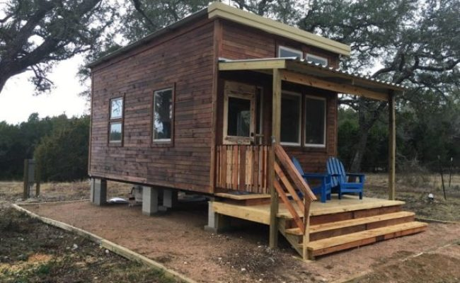 216 Sq Ft Tiny House With Elevator King Bed