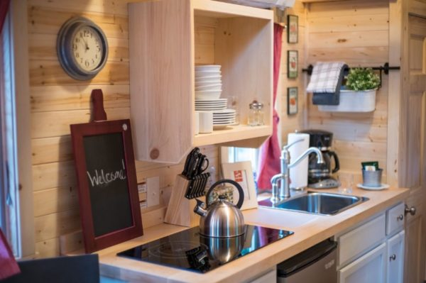 Scarlett Tiny House at Mt Hood Tiny House Village 0013