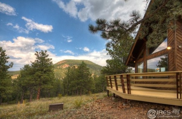 Scenic Tiny Cabin on 36 Acre Property in Colorado