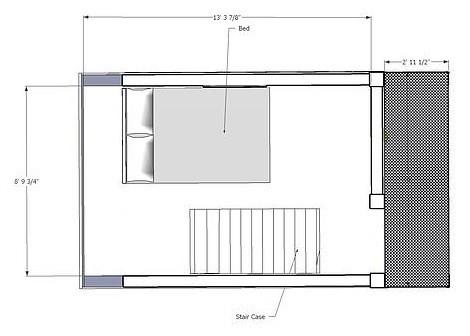 225 Sq. Ft. Tie-Hack Tiny House