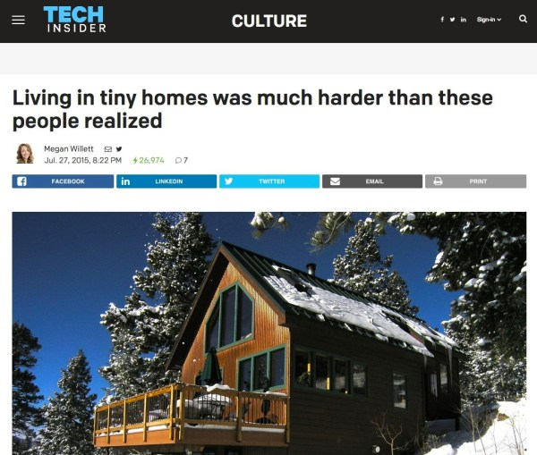 Why These 5 People Left Their Tiny Homes