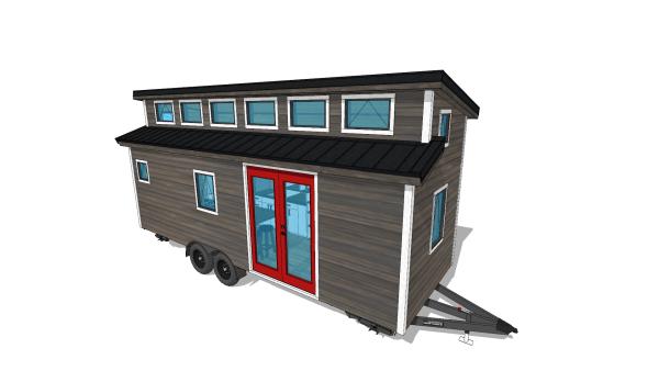 Tiny Home Designs: Cider Box Tiny House Plans 40% Off