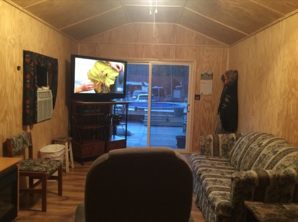 384 Sq Ft Shed Converted into Tiny Home for 11k