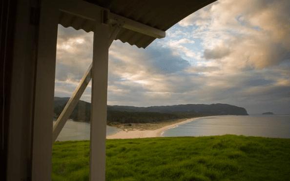 Shepherd Hut Micro Cabin with Ocean Views 0011