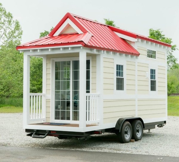 Shonsie Tiny House in Red 0019