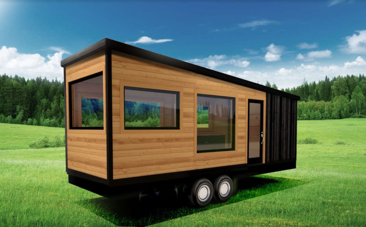 signature series tiny house from tiny heirloom. Black Bedroom Furniture Sets. Home Design Ideas