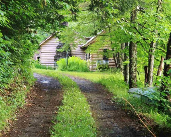Small Log Cabin in Calais Vermont 009