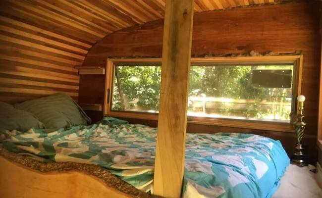 Snails Away Tiny House Rental In Bloomington Indiana