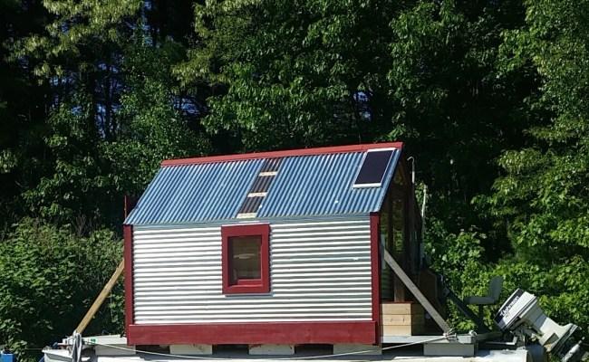The Love Shack Tiny House Boat