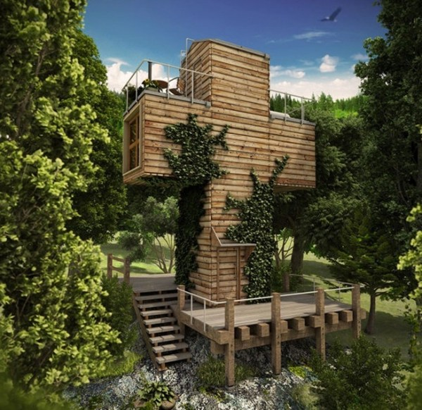Spiritual-Cross-Shaped-Off-Grid-Tiny-Cabin-Design-001