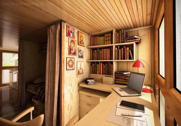 Spiritual-Cross-Shaped-Off-Grid-Tiny-Cabin-Design-004