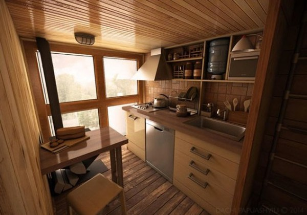 Spiritual-Cross-Shaped-Off-Grid-Tiny-Cabin-Design-005