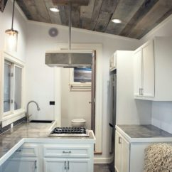 Mini Pendant Lights For Kitchen Commercial Hood Installation Stony Ledge 30ft Tiny House On Wheels With A Downstairs ...