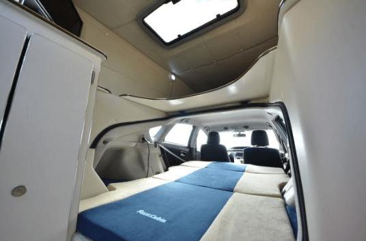 Toyota Prius RV Living Interior