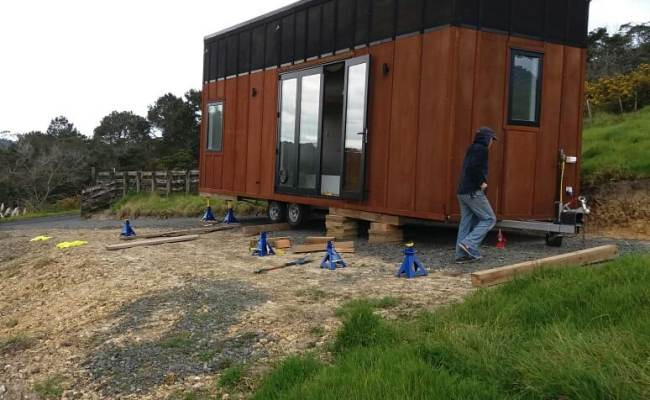Mat Hayley S Tiny House Build In Auckland New Zealand