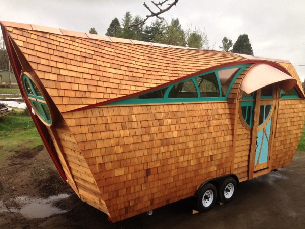 The Arc Tiny House on Wheels by Abel Zimmerman Zyl of Zyl Vardos
