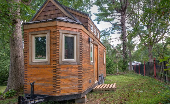 Beeming Bee Tree Tiny House In Asheville For Sale