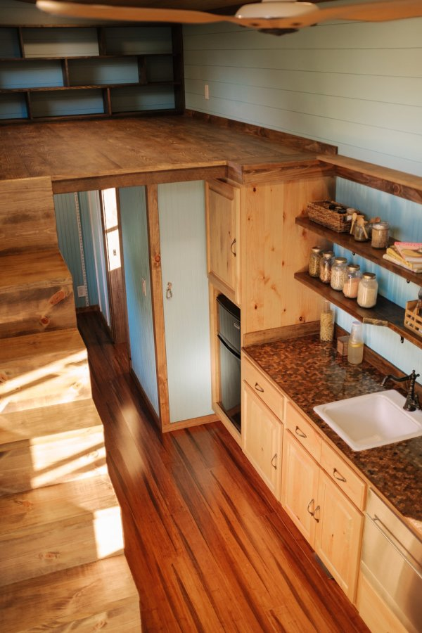 The Big Whimsy 30ft Tiny Home by Wind River Tiny Homes 005
