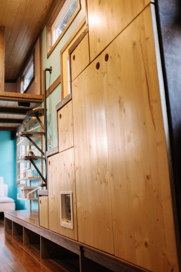 The Big Whimsy 30ft Tiny Home by Wind River Tiny Homes 0051