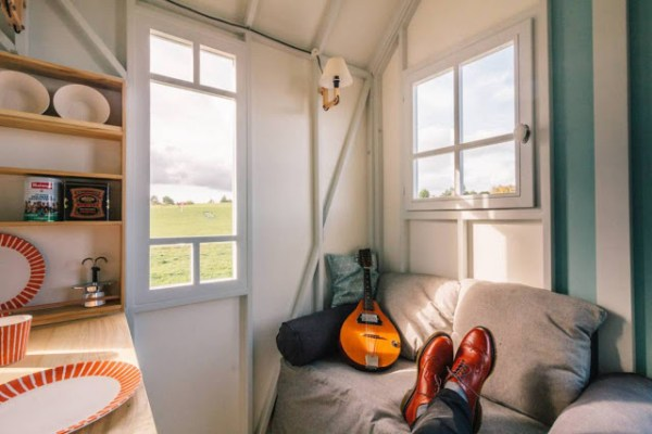 The Cahute Cabin Tiny House on Wheels
