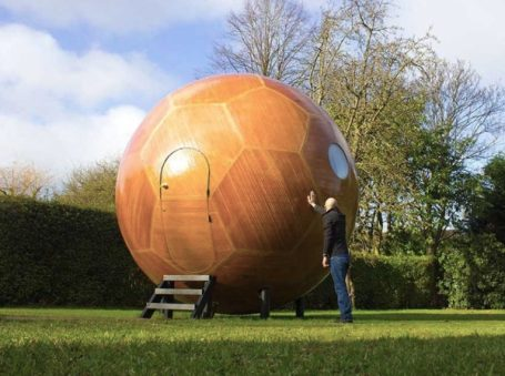The Conker Spherical Tiny House 001