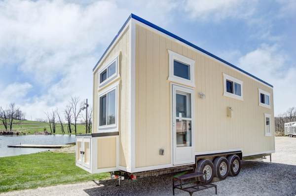 The Fox 28ft Tiny House by Modern Tiny Living 0024