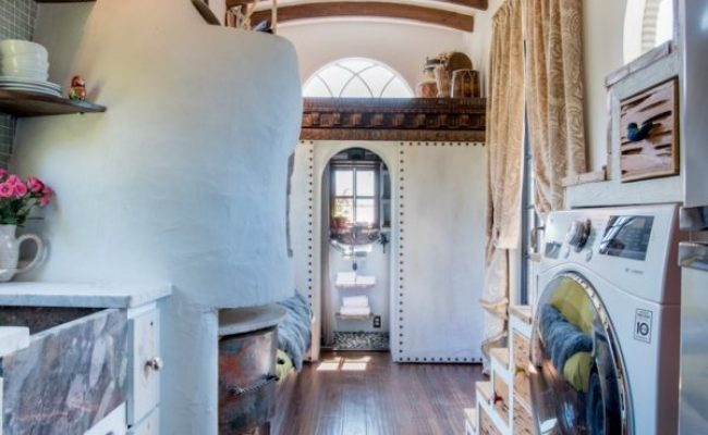 Incredible Gypsy Mermaid Tiny House Built For 15k