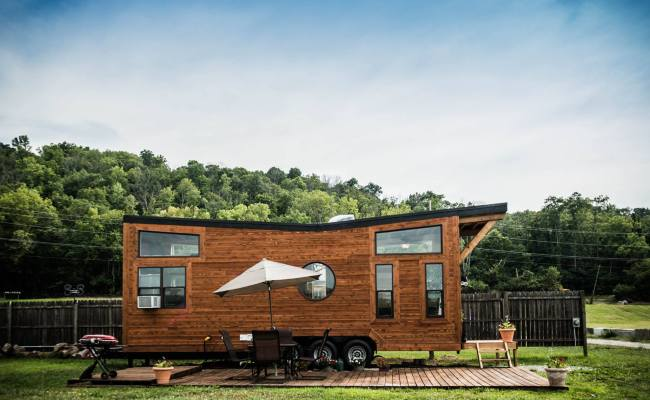 The Industrial Wheel Life Tiny House Vacation In Ky