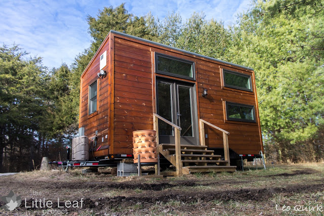 The little leaf tiny house for Leaf house tiny house