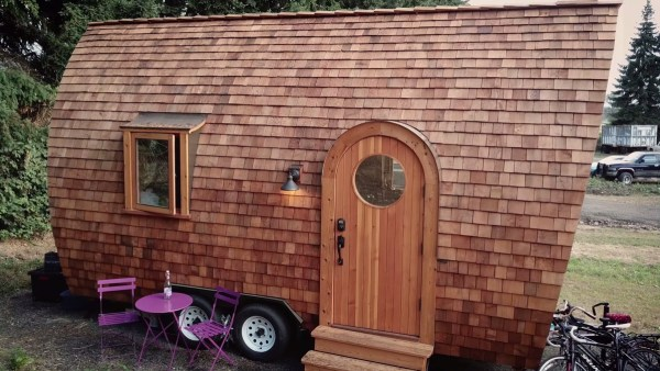 The Magical Fortune Cookie Tiny House