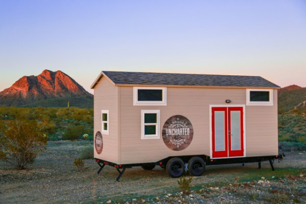The Mansion Tiny House by Uncharted Tiny Homes 001